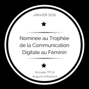 Trophée _ Communication _ Digital _ Visibilité _ Nomination _ Goretty Ferreira _ TF1 _